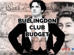 Bullingdon Club Budget